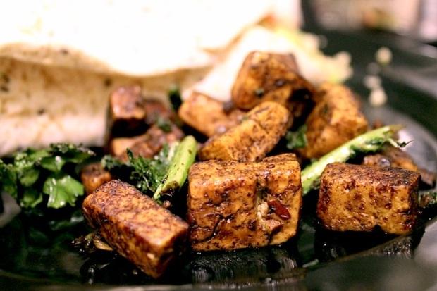 kale tofu